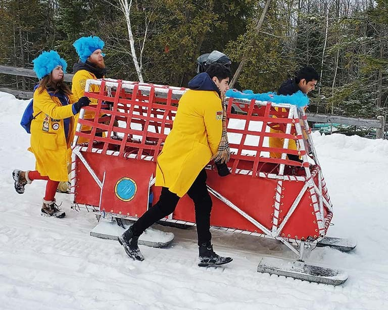 Best showing yet for Concordia at the Great Northern Concrete Toboggan Race