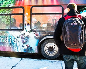 Shuttle talks: community members provide their input on the university's bus system