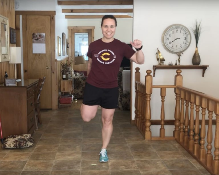 Stay in shape while you're stuck at home — with trainer Lisa-Marie Breton-Lebreux