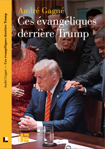 The front cover of a book about Donald Trump and his evangelical supporters