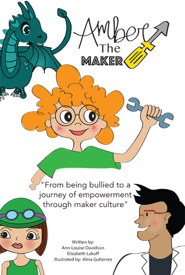 Amber the Maker Poster