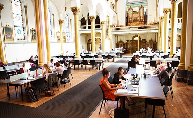 The Grey Nuns Reading Room | Photo by Concordia University
