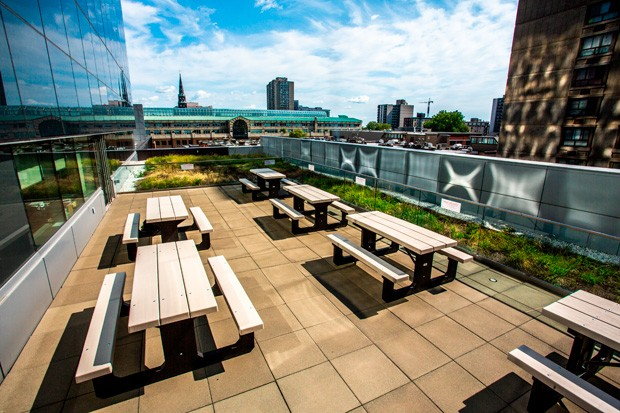 The MB Terrace is scheduled to open to Concordia students this September
