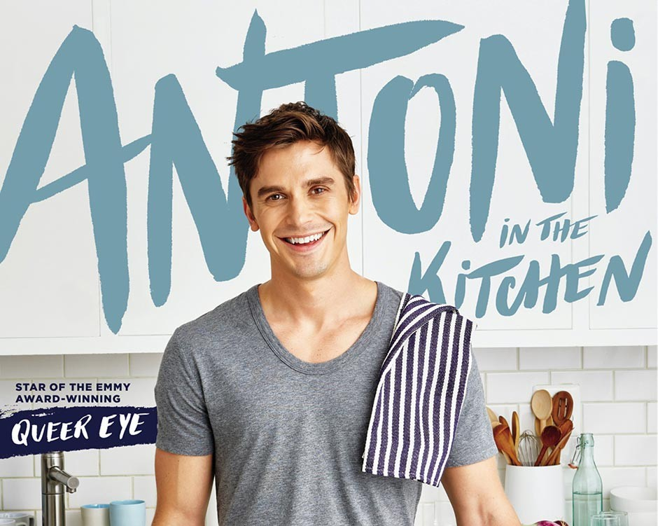Queer Eye's Antoni Porowski shifts from TV star to author