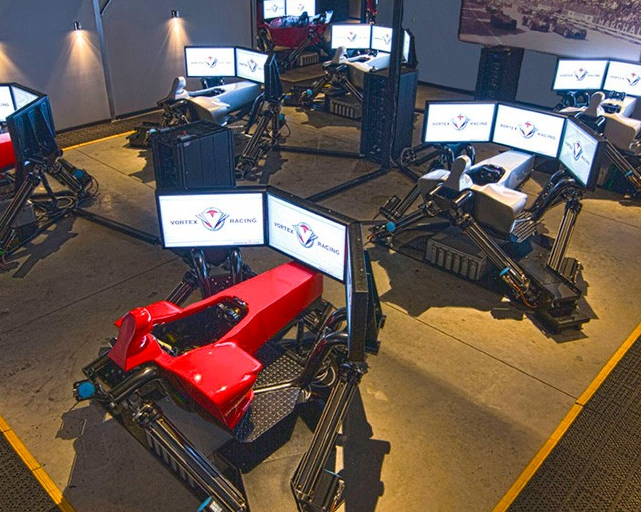 Alum's racing simulation business pulls ahead of the pack