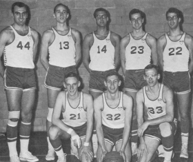 George F. Lengvari Jr., BA 63, as a Loyola Warrior in the 60's