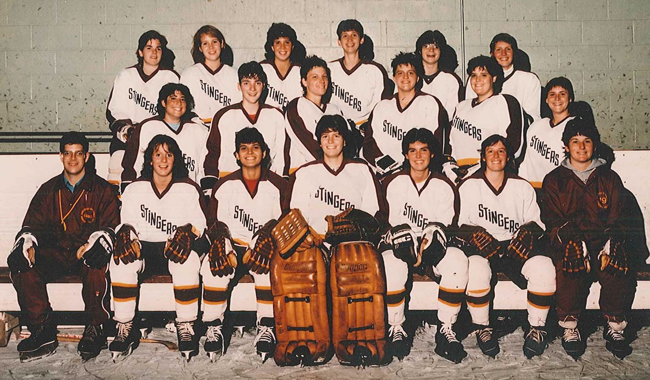 The 1986 Stingers squad