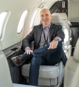 Marco Prud'Homme, MBA 09, CEO of Nolinor Aviation