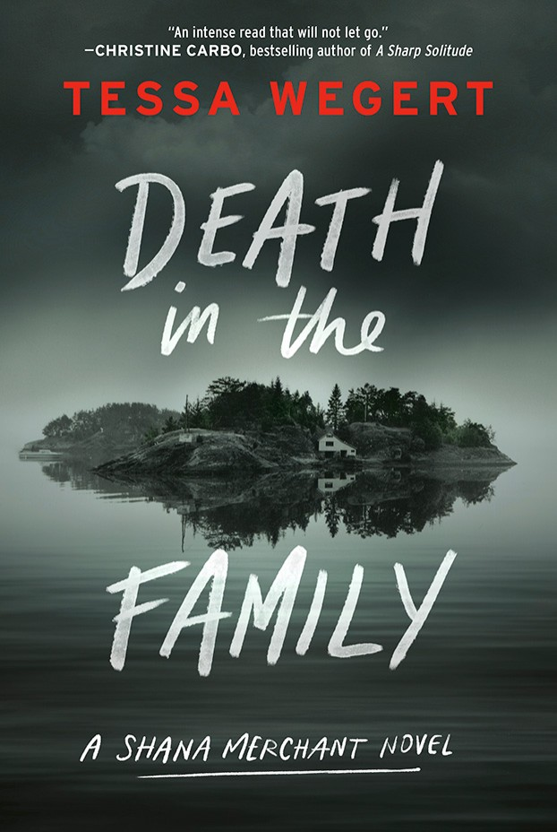Cover: Death in the Family, by Tess Wegert