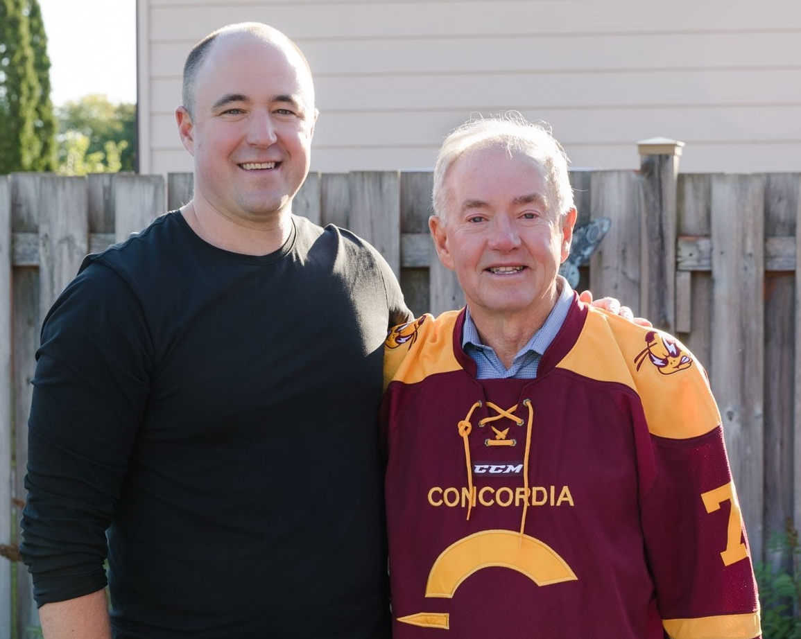 Family ties to Concordia inspire $20,000 gift in support of Stingers hockey