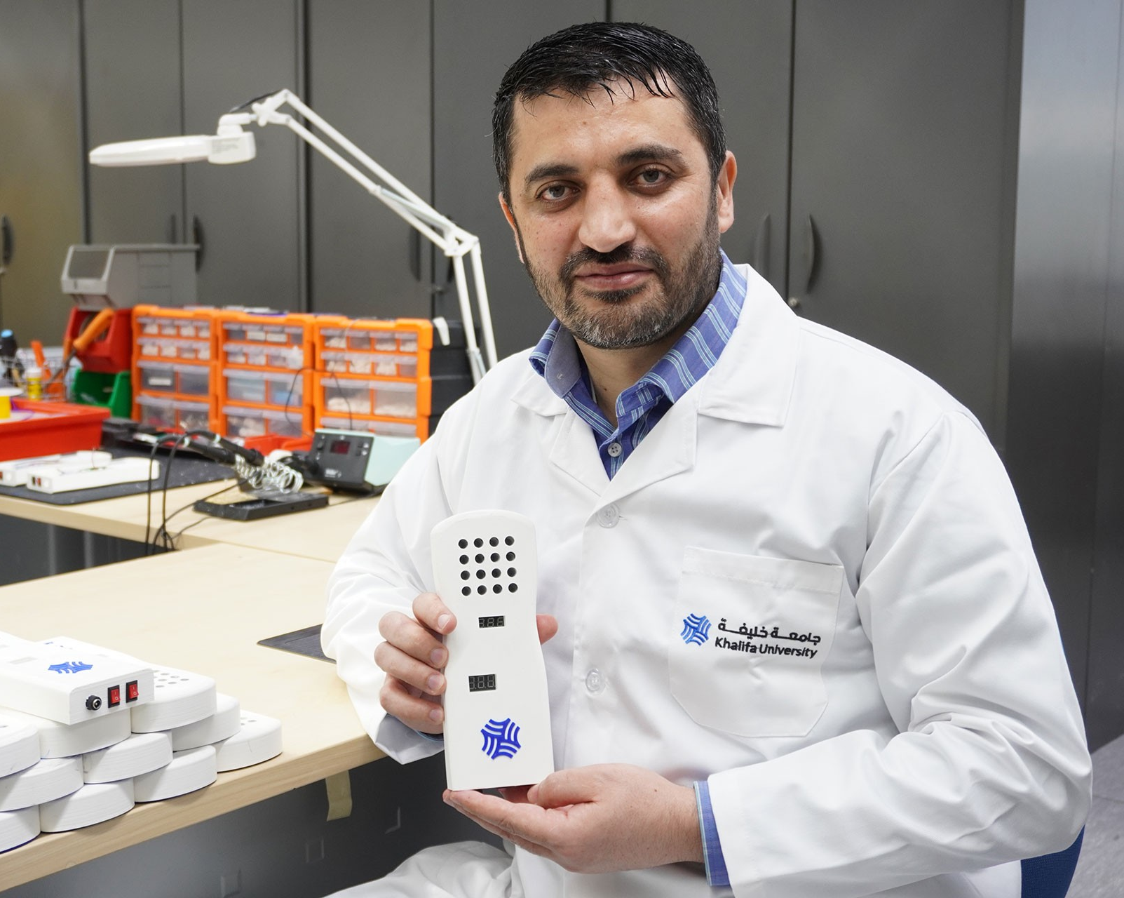 Handheld device takes aim at detecting COVID-19