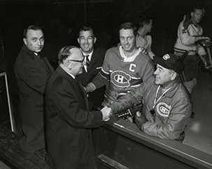 Records Management and Archives mourns Jean Béliveau