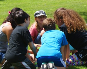 Summer camp connects kids with ideas