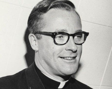 Concordia mourns the passing of Father John O'Brien, S.J.