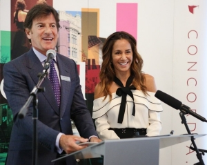 Claudine and Stephen Bronfman
