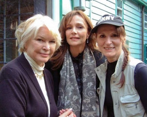 Ellen Burstyn, Jennifer Dale and Tyler Chase
