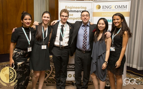 Engineering and Commerce Case Competition executive team