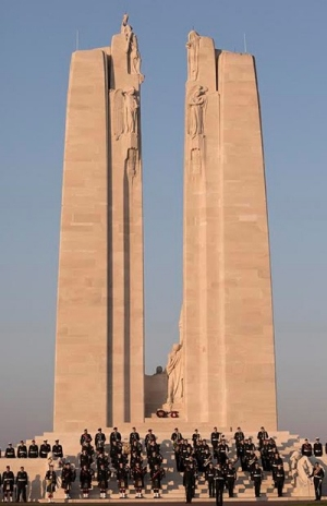Canadian National Vimy Memorial in France