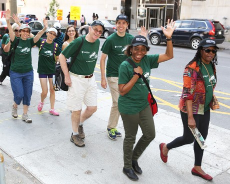 One 6.5-kilometre walk for Concordians, one giant leap for students