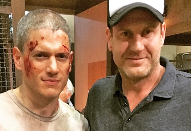 Wentworth Miller and Michael Pohorly