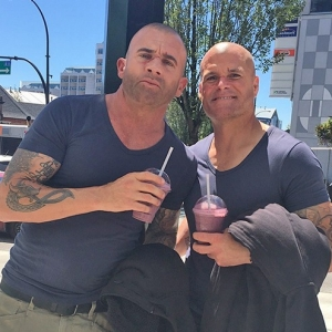 Dominic Purcell and John MacDonald