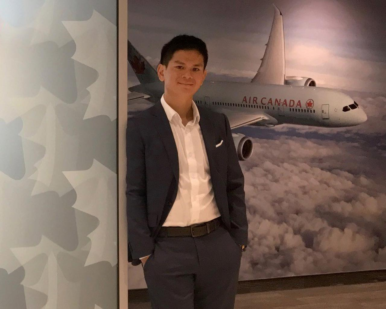 Flying high with Air Canada