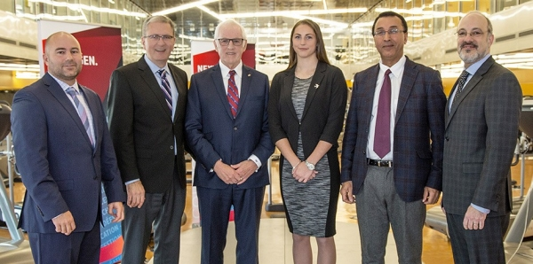 R. Howard Webster Foundation invests in Concordia's PERFORM Centre and Stingers student athletes