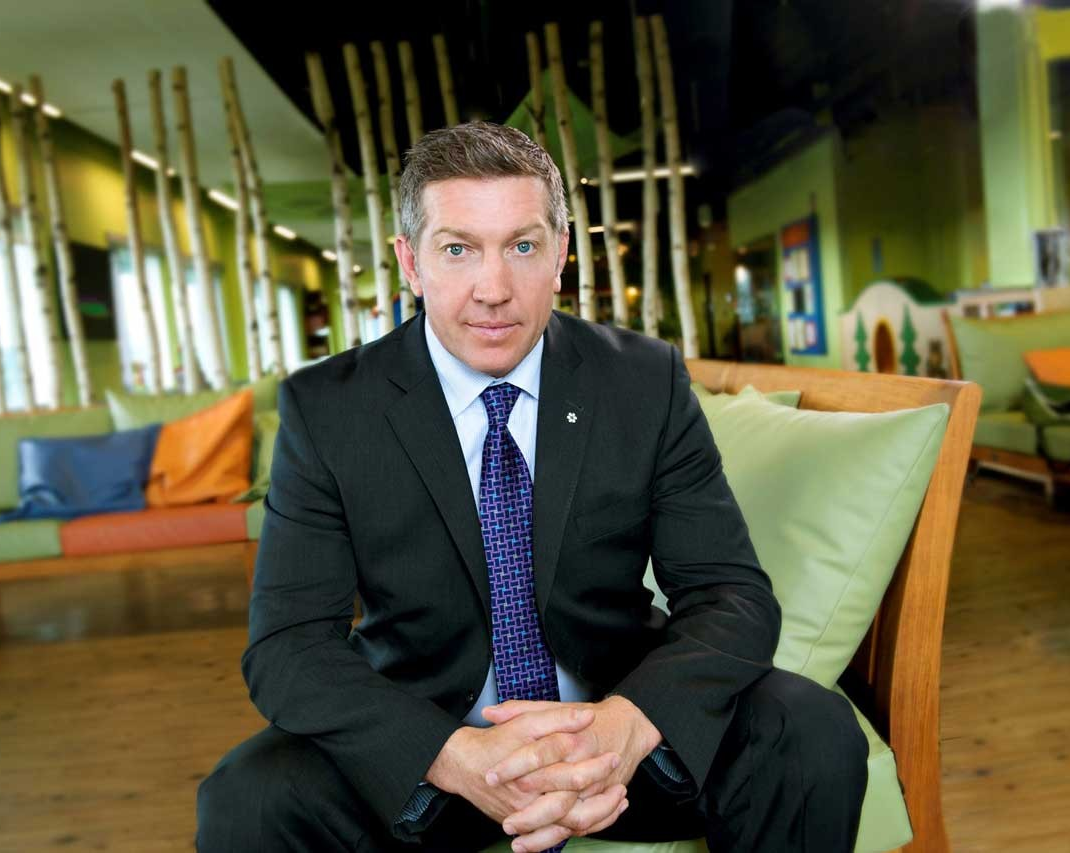 Sheldon Kennedy's commitment to child advocacy is driven by hope