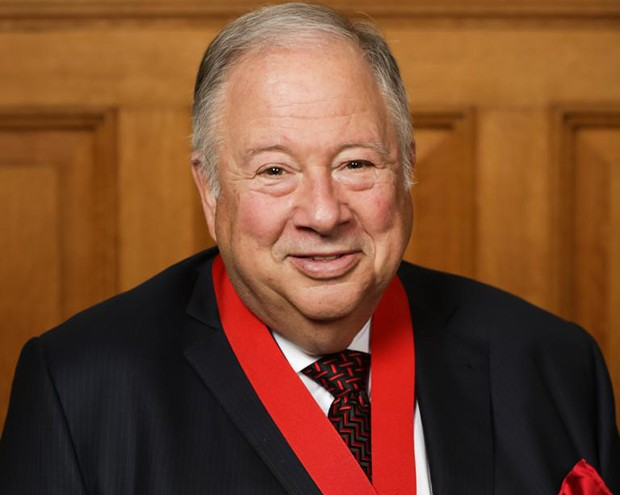 Jonathan Wener named Knight of the Ordre de Montréal