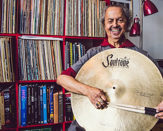 Giving back to students keeps Montreal drumming legend upbeat
