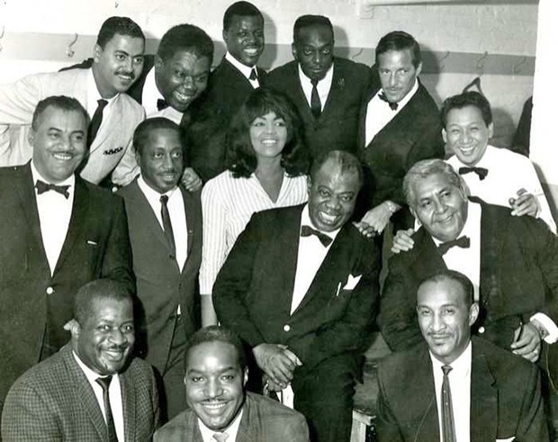 Louis Armstrong and His All-Stars in 1964