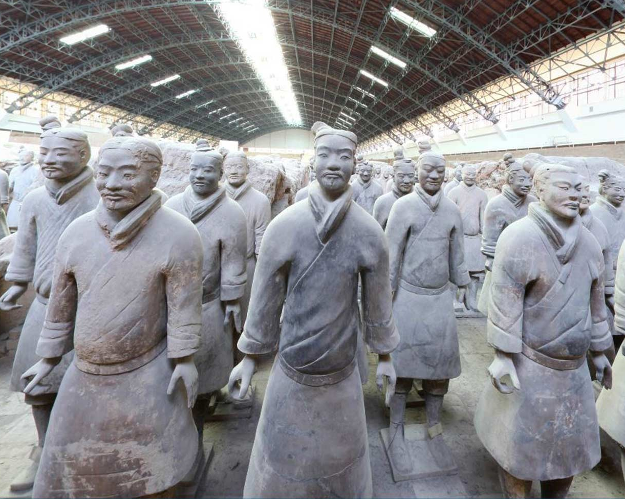 Using advanced technology, Concordia graduate's company keeps an eye on China's Terracotta Army