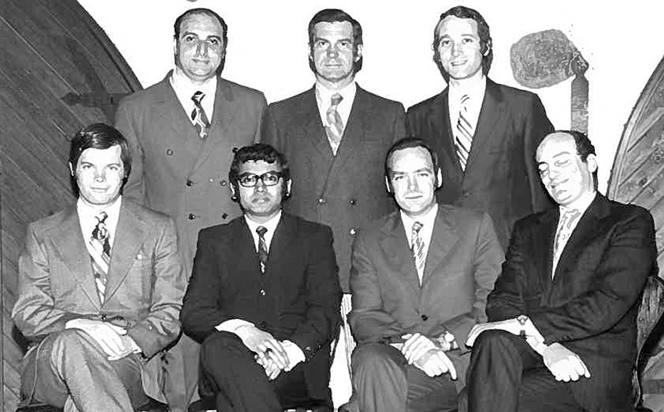 First MBA graduates in Spring 1971