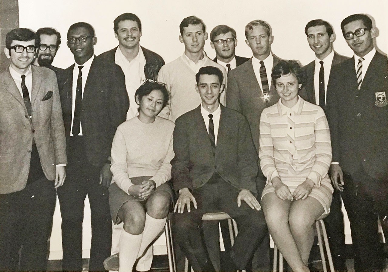 Jose Bakker was a member of the prestigious Garnet Key Society