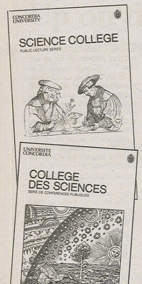 Science College pamphlets