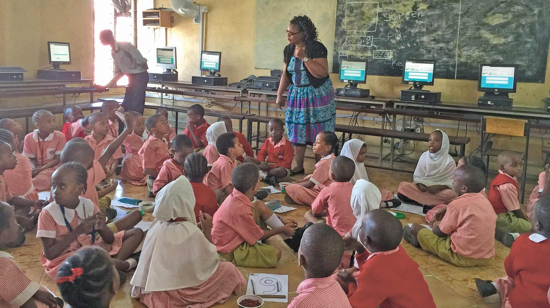 """By having Kenyan teachers as ambassadors, you can't imagine how it has generated excitement."""