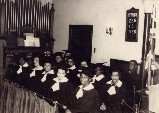 Union United Church Choir, 1944.