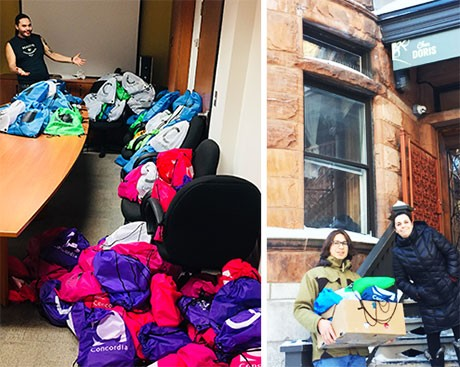 150 care packages delivered to Montreal shelters by Indigenous student group