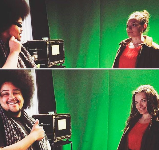 Loyal CUTV member Marley Nolls (left) is seen here shooting a video alongside Amber Jackson, CUTV's administrative coordinator. | All photos courtesy of CUTV