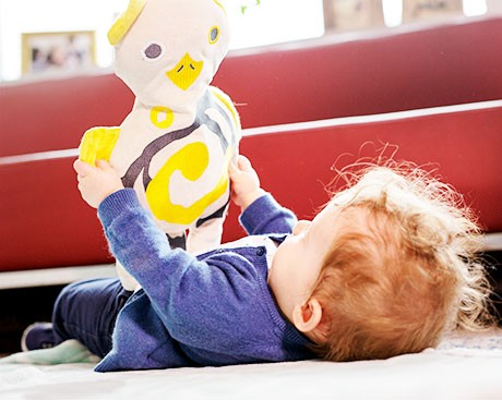 Researchers have created a smart-textile toy to increase emotional and social development