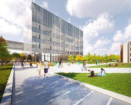 Construction begins on Concordia University's state-of-the-art Science Hub