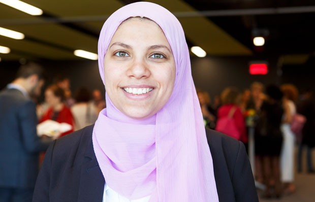 "Co-op student Salma Aly: ""I got to experience this whole new world."""