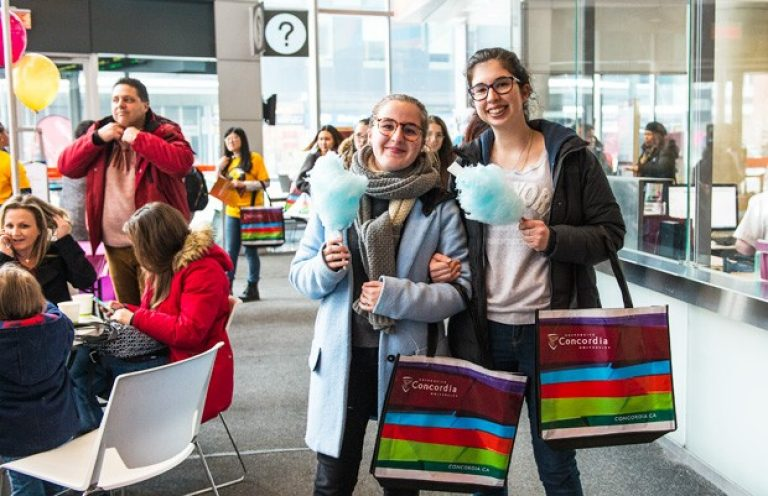 Concordia is throwing open its doors to welcome prospective students on Saturday, October 20. | Photo by Justin Desforges