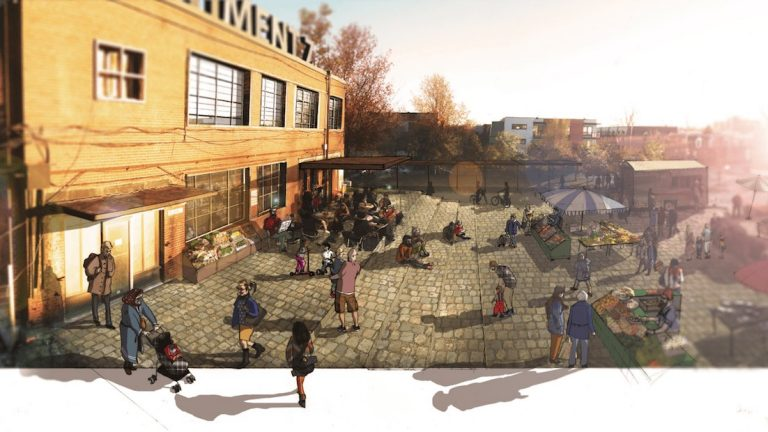 "Shauna Janssen: ""The community is interested in creating a new public space and possibly a community garden."" 