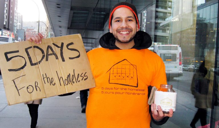 This year's 5 Days for the Homeless campaign organizers aim to raise $6,000 to support local community organizations