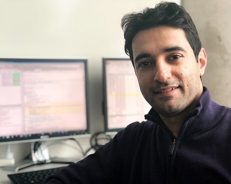 PhD candidate Milad Ashouri is building an app to monitor and improve home energy use