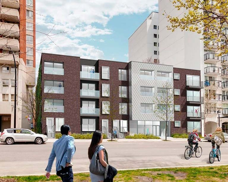 A new Concordia Student Union-led affordable housing project breaks ground