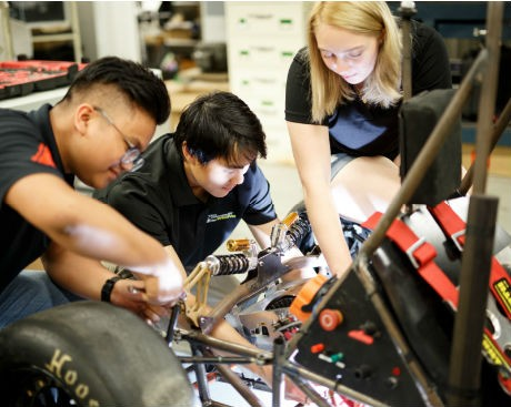VROOM! The Grand Prix summer garage showcases Concordia students' fast, furious — and eco — creations