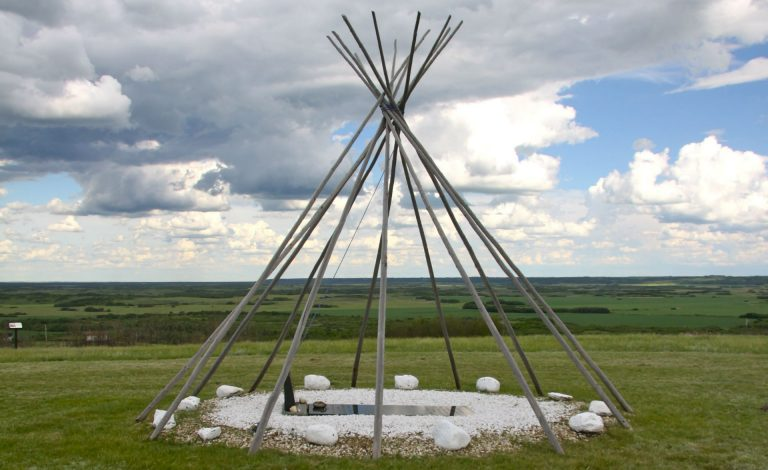 Chief Poundmaker's burial site