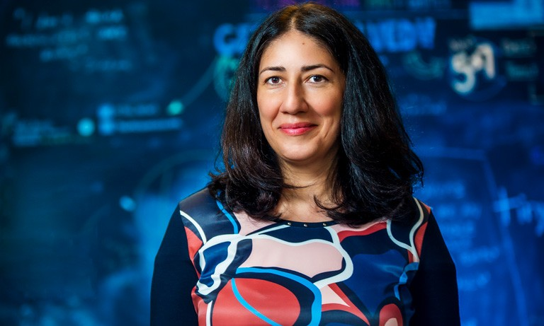 A neuroscientist at Concordia's PERFORM Centre, Najmeh Khalili-Mahani.